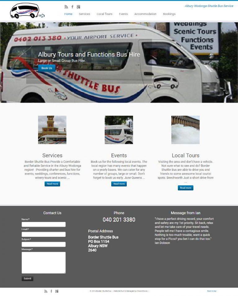 Border Shuttle Bus - Albury