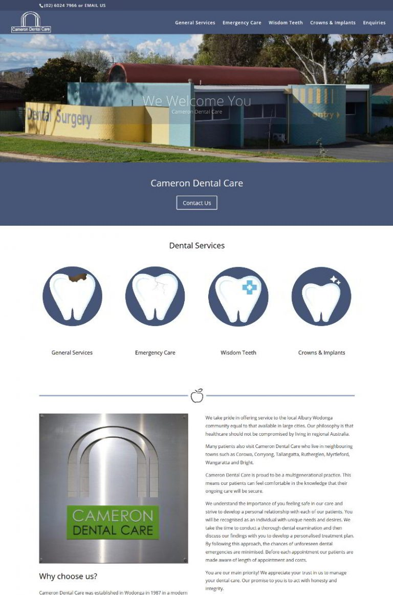 Cameron Dental Care - Wodonga