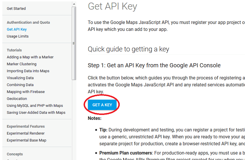 Simple Steps To Get Your Own Google Maps Api Key Chookchook