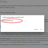 Simple Steps to get your own Google MAPS API Key