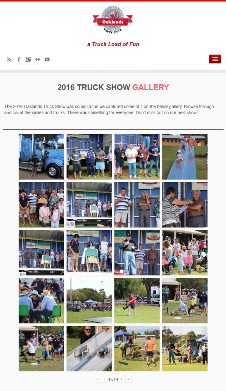 Oaklands Truck SHow - Photo Gallery