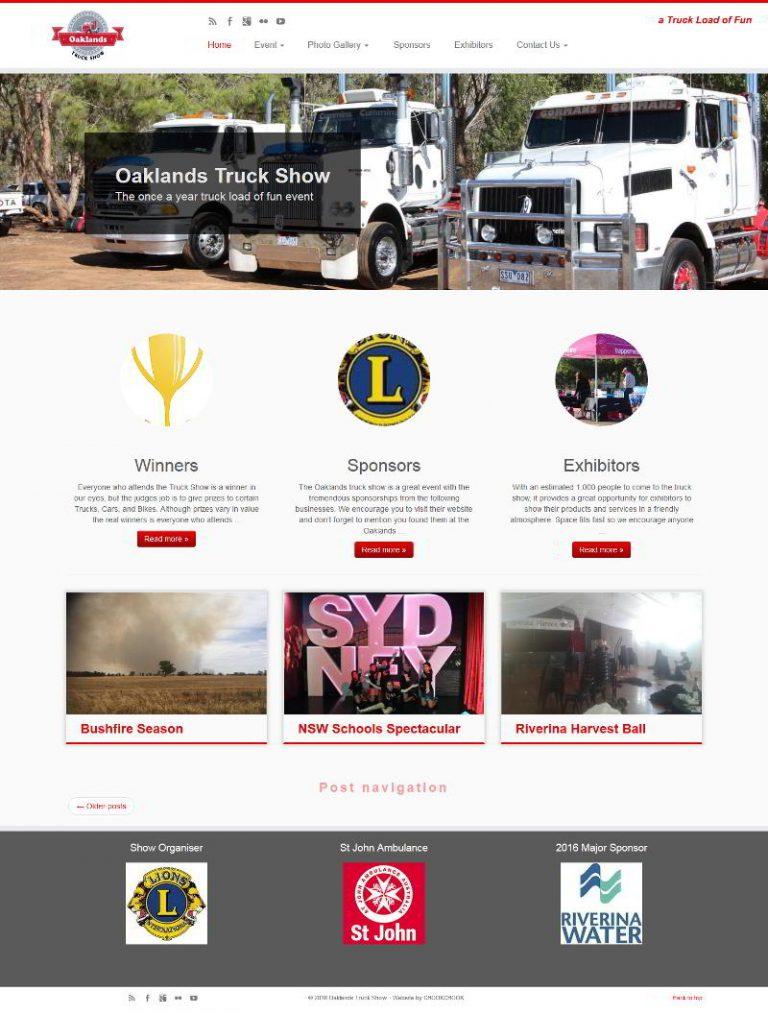 Oaklands Truck Show