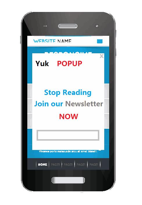 how to stop websites sendkng popups